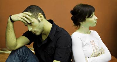 Испортились отношения с мужем